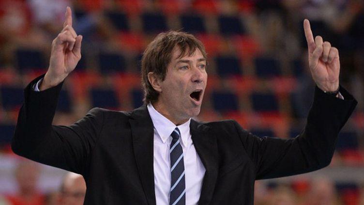 Laurent Tillie, sélectionneur de l'équipe de France de volley (JULIEN CROSNIER / DPPI MEDIA)