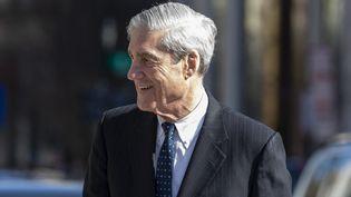 Robert Mueller à Washington D.C., le 24 mars 2019. (TASOS KATOPODIS / GETTY IMAGES NORTH AMERICA / AFP)