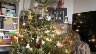 Noël : préparer les fêtes en temps de coronavirus. (Capture d'écran/France 2)