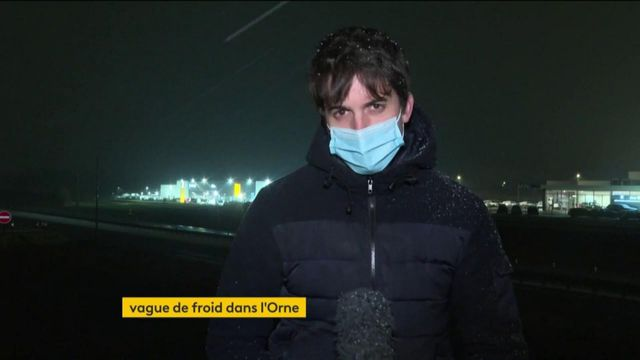Vague de froid : l'Île-de-France et la Normandie touchées par la neige, les autorités appellent à la prudence