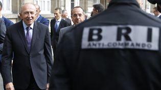 Le ministre de l'Intérieur, Gérard Collomb, à Paris, le 1er septembre 2017. (PATRICK KOVARIK / AFP)