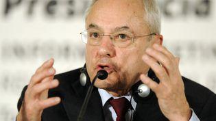 Jacques Barrot à Tolède (Espagne) le 21 janvier2010 (JAVIER SORIANO / AFP)