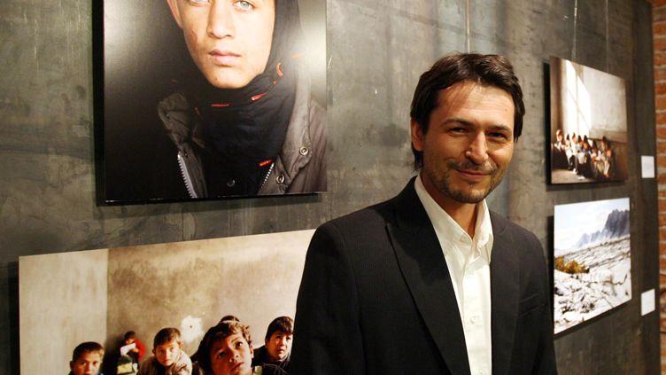 Le photographe polonais Marcin Studer, enlevé en juillet 2013 en Syrie, a échappé à ses ravisseurs. (RADEK PIETRUSZKA / PAP / AFP)