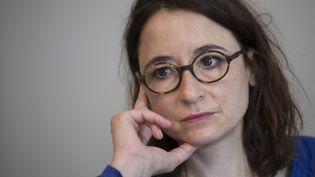 Marie Dosé, avocate au barreau de Paris, le 26 avril 2018. (THOMAS SAMSON / AFP)