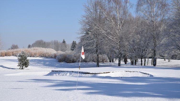 Le golf en hiver. (GOLF CLUB DE LIMOGES)
