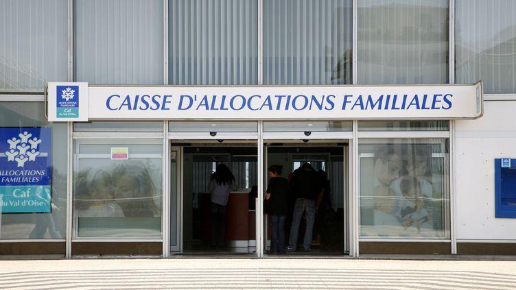 La caisse d'allocations familiales de Cergy-Pontoise (Val-d'Oise). (NICOLAS THIBAUT / PHOTONONSTOP / AFP)