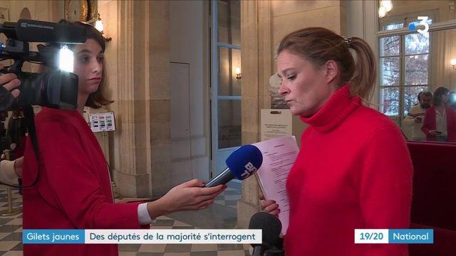 """""""Gilets jaunes"""" : des députés de la majorité s'interrogent"""