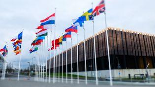La Cour de justice de l'Union européenne, au Luxembourg,le 5 novembre 2014. (THIERRY ROGE / ISOPIX / SIPA)