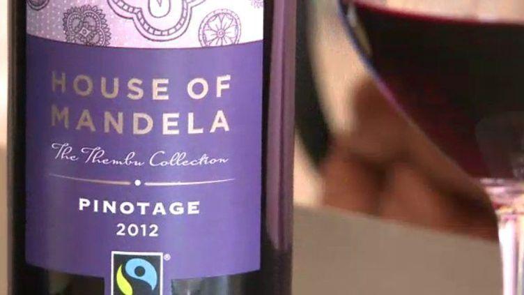 La famille Mandela commercialise un vin à son nom. (AFP/FTV)