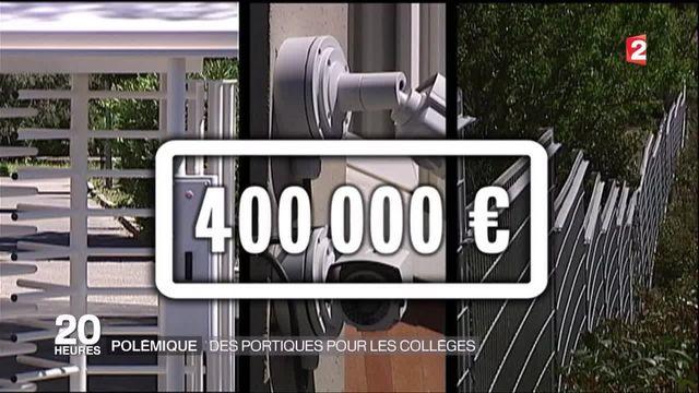 Bouches-du-Rhône : les premiers portillons de sécurité installés dans deux collèges
