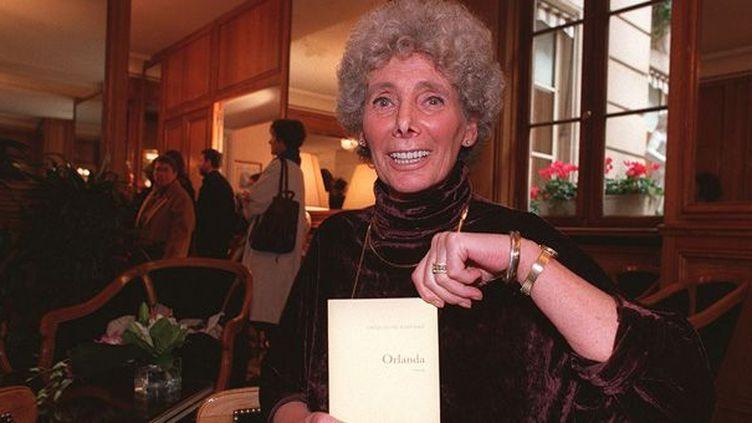 """Jacqueline Harpman avait obtenu en 1996 le prix Médicis pour """"Orlanda""""  (Roussier / SIPA)"""