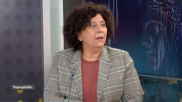 Frédérique Vidal, invitée du 18.50 franceinfo, le 5 octobre 2020. (FRANCEINFO)
