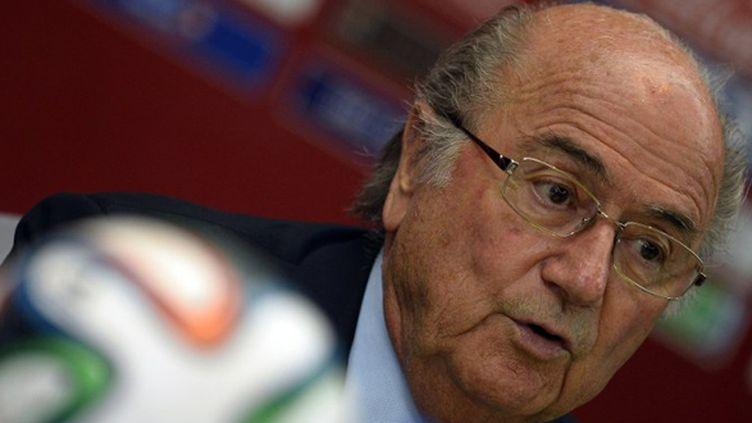 Sepp Blatter, le président de la Fifa (GERARD JULIEN / AFP)