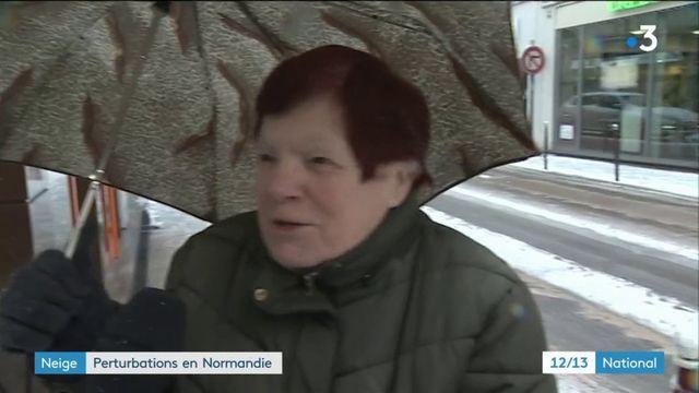 Neige : pagaille en Normandie