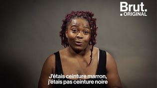 VIDEO. Romane Dicko, l'espoir du judo français qui monte, qui monte (BRUT)