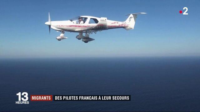Migrants : des pilotes français volontaires volent à leur secours