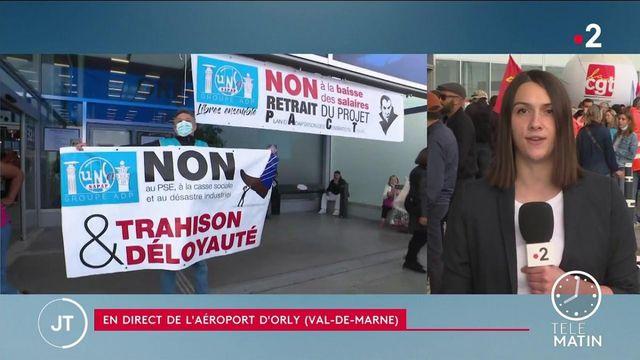 Paris : une grève dans les aéroports à l'approche du premier week-end de départ en vacances