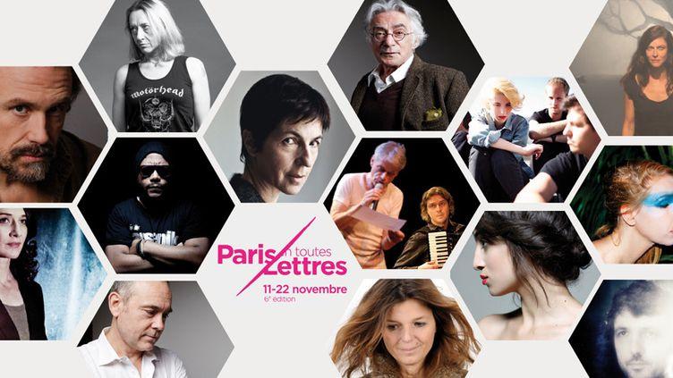 """Affiche de """"Paris en toutes lettres"""""""