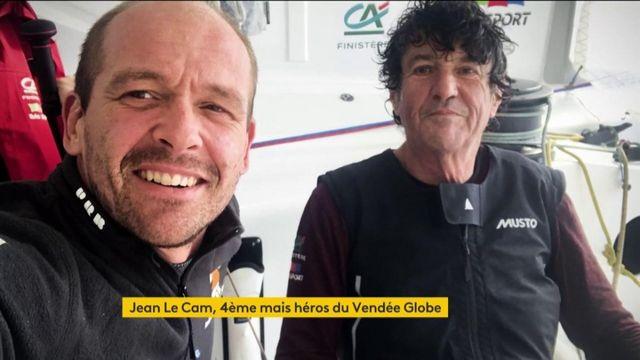Vendée Globe : Jean Le Cam, 4ème de la course mais vrai héros