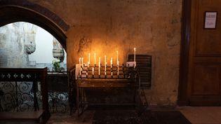 Une église à Bordeaux, le 20 février 2020. (CONSTANT FORME-BECHERAT / HANS LUCAS / AFP)
