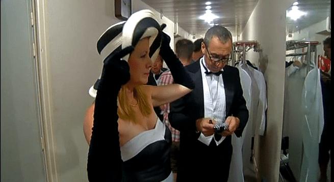 Adieu le trac des coulisses avant le spectacle  (France 3)