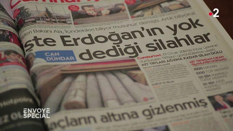Envoyé spécial. Turquie : l'enquête interdite (FRANCE 2 / FRANCETV INFO)