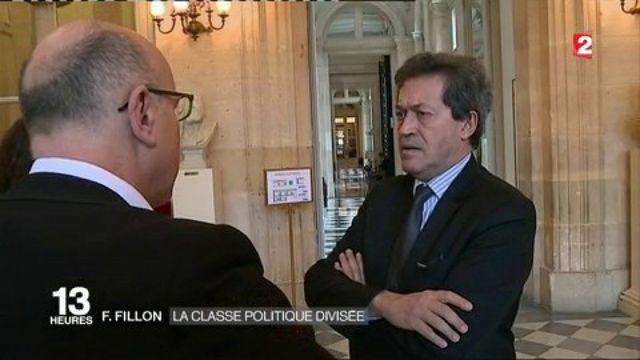 François Fillon : la classe politique divisée
