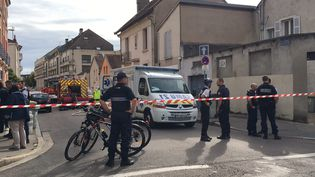 L'explosion a touché de vieilles habitations de Dijon (PH BRUCHOT / MAXPPP)