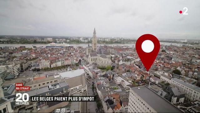 Belgique : plus de contribuables à l'impôt sur le revenu qu'en France