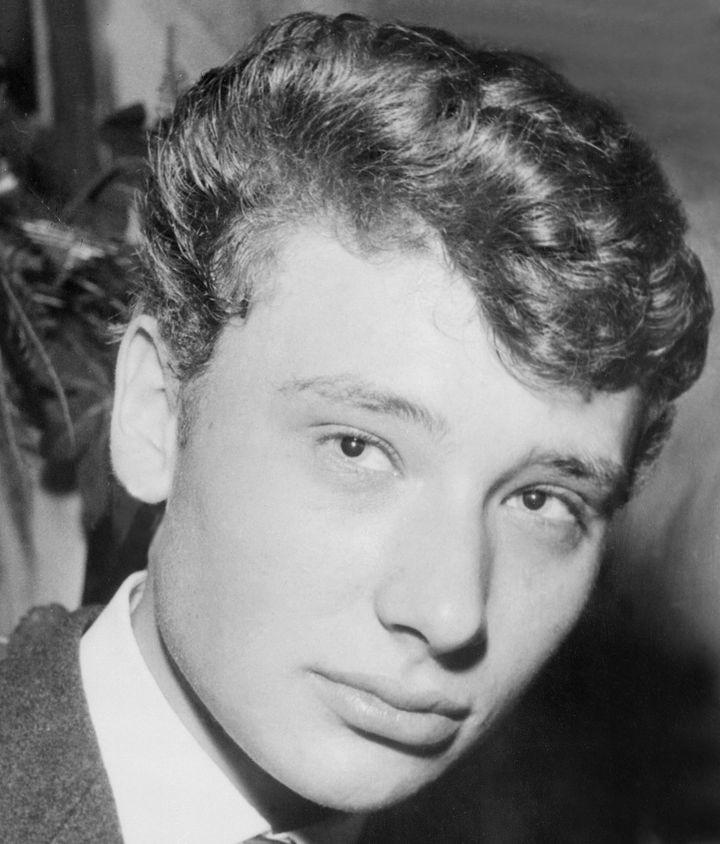 Le jeune Jean-Philippe Smet en 1960  (UPI / AFP)