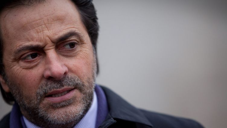 AlbertElharrar, président de la communauté juive de Créteil, le 17 décembre 2010. (PHILIPPE HUYNH-MINH / MAXPPP)