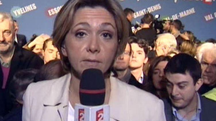 Valérie Pécresse a réussi le moins mauvais score parmi les ministres candidats (France 2)