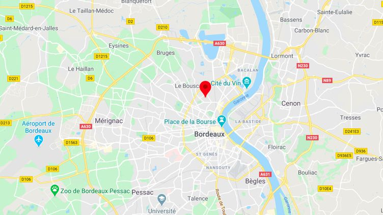 Le quartier du Grand-Parc, à Bordeaux. (GOOGLE MAPS)