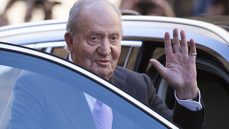 Juan Carlos, le 1er avril 2018. (JAIME REINA / AFP)