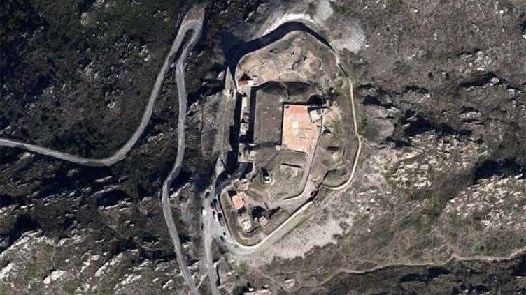 (Le centre national des commandos est installé dans le Fort Béart, à Port-Vendres © Capture d'écran Google Maps)