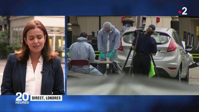Londres : le suspect aurait agi seul