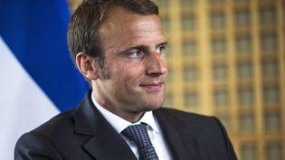 (© Maxppp Emmanuel Macron)