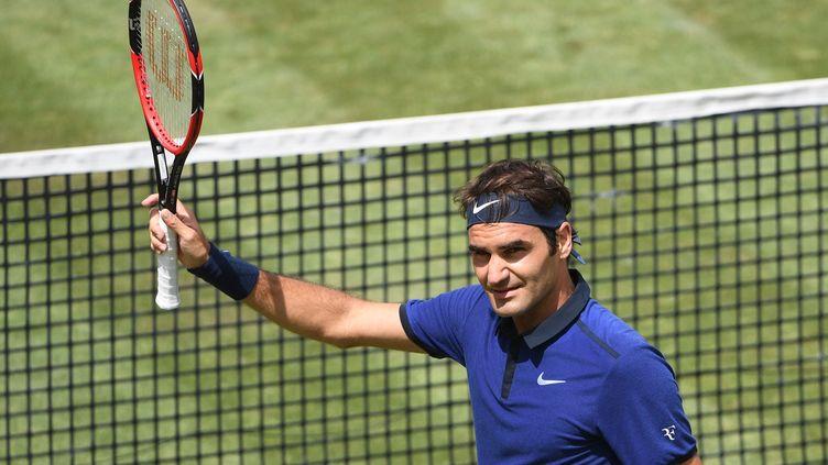 Le Suisse Roger Federer (MARIJAN MURAT / DPA)