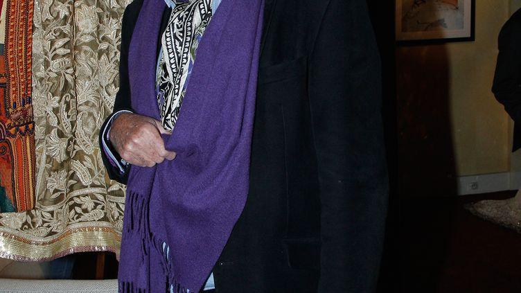 Guy de Rougemont le 4 octobre 2012 à Paris, à la Galerie du Passage (BERTRAND RINDOFF PETROFF / FRENCH SELECT / GETTY IMAGES)
