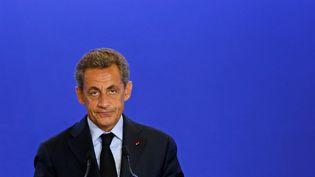 Le président des Républicains Nicolas Sarkozy, le 26 juillet 2016 à Paris. (BENOIT TESSIER / REUTERS)