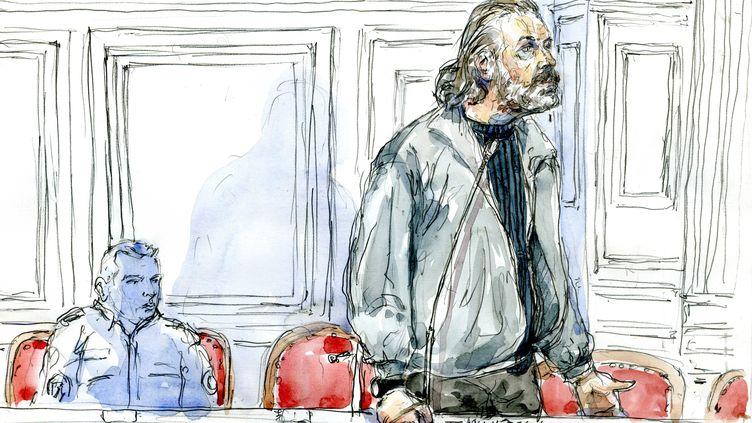 L'ex-convoyeur de fonds Toni Musulin, lors d'une audience au tribunal de Lyon (Rhône), le 14 septembre 2010. (BENOIT PEYRUCQ / AFP)