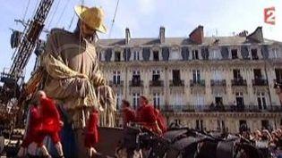 El Campesino, nouvelle marionnette géante de la compagnie Royal de Luxe à Nantes  (Culturebox)