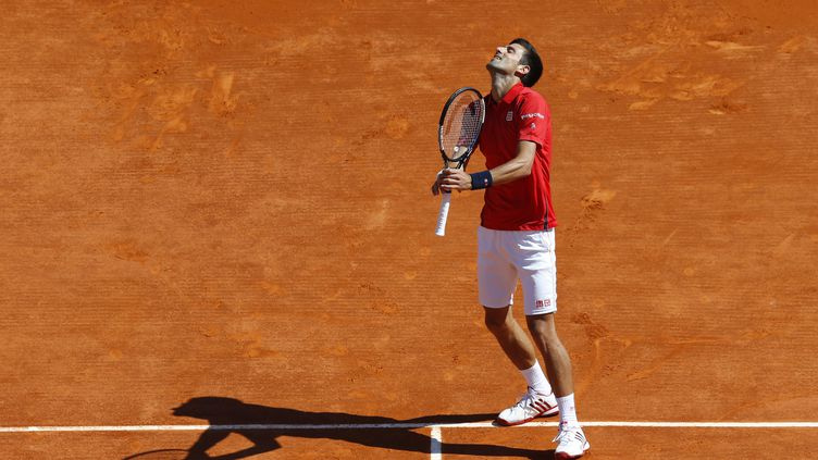 La déception du Serbe Novak Djokovic (VALERY HACHE / AFP)