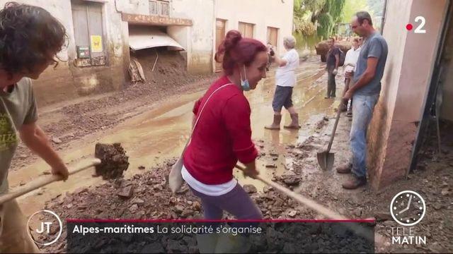 Inondations dans les Alpes-Maritimes : les habitants des villages isolés s'organisent