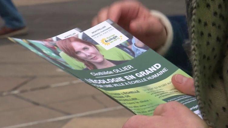 Municipales à Montpellier : la candidate EELV, Clothilde Ollier, perd son investiture (FRANCE 3)