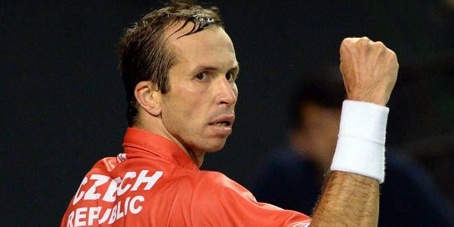 Radek Stepanek, le vétéran de l'équipe tchèque