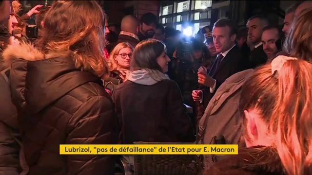 Un mois après l'incendie de l'usine Lubrizol, Emmanuel Macron s'est rendu à Rouen