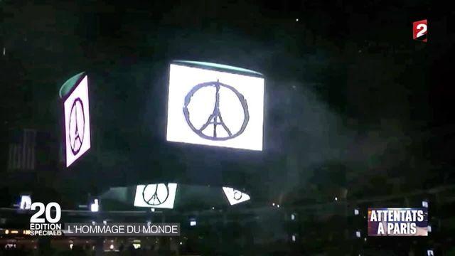 Attentats à Paris : de nombreux hommages dans le monde