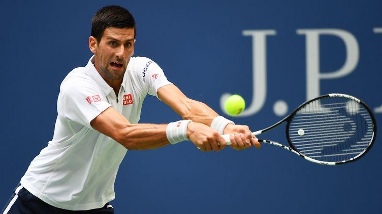 Djokovic passe en finale de l'US Open. (ALEX GOODLETT / GETTY IMAGES NORTH AMERICA)