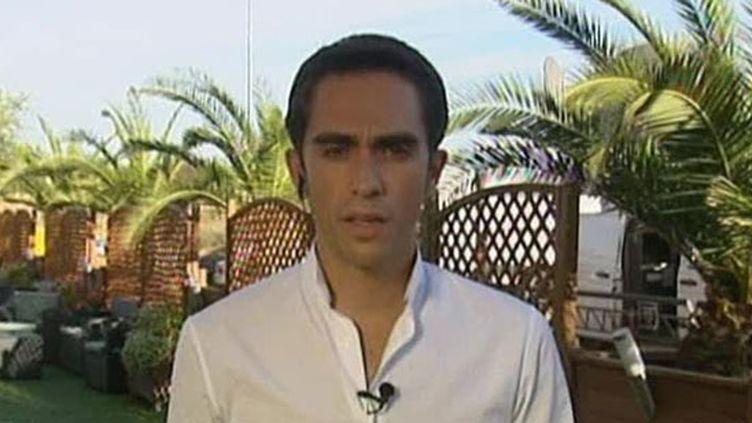 L'Espagnol Alberto Contador